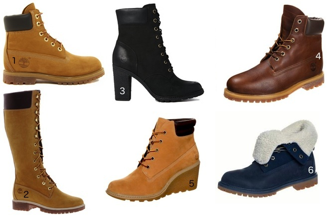 les timberland femme